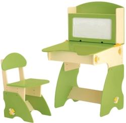 Столики Детям БС-1 (бежевый/салатовый)