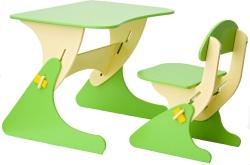 Столики Детям Буслик Б-БС (салатовый/бежевый)