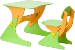Столики Детям Буслик Б-СО (салатовый/оранжевый)