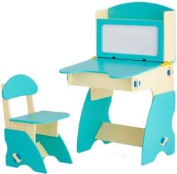 Столики Детям ББ-1 бежево-бирюзовый