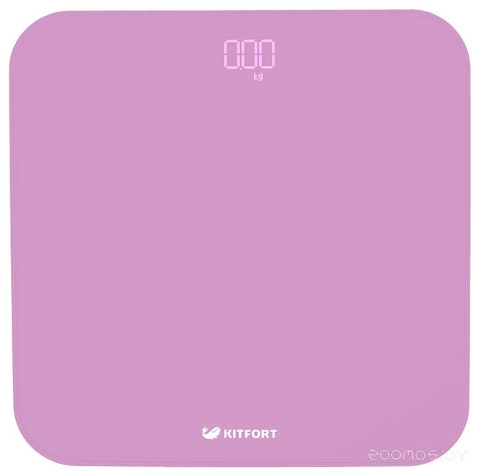 Напольные весы Kitfort КТ-802-2 фиолетовые