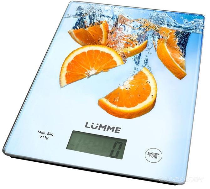 Кухонные весы Lumme LU-1340 (Orange Fresh)