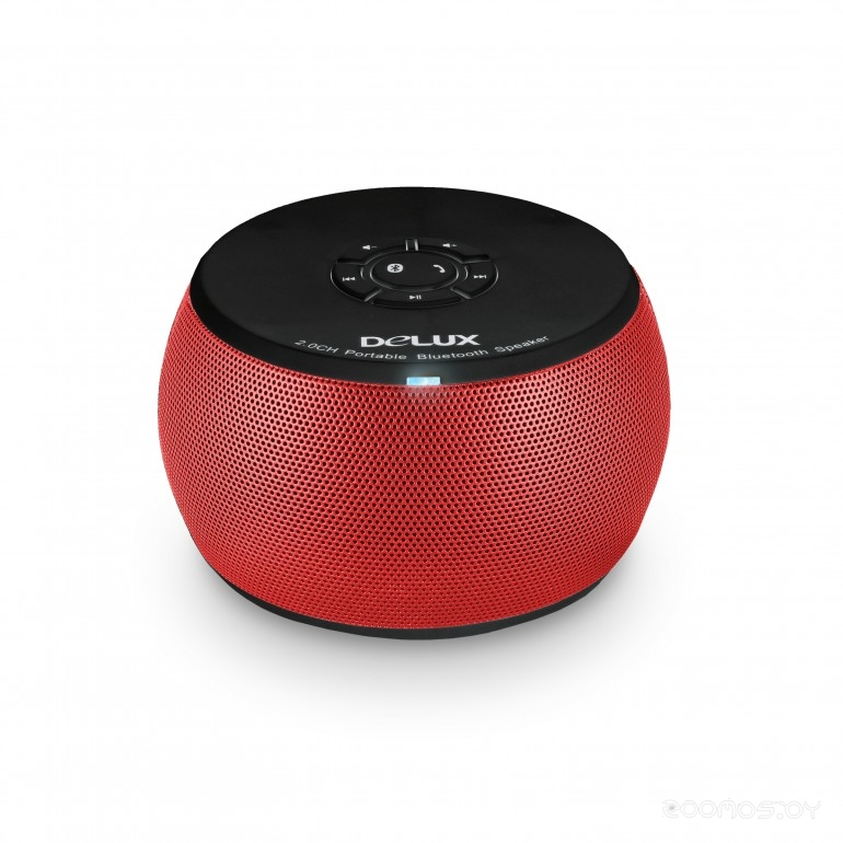 Портативная акустика DELUX DLS-Q12B (Red)