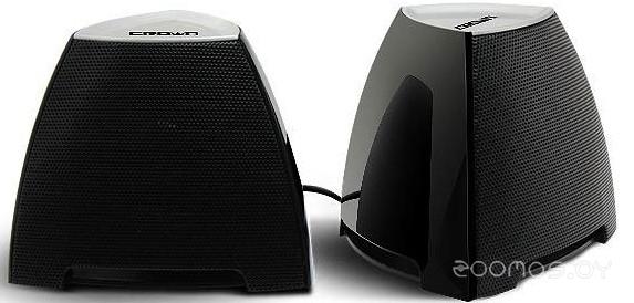 Компьютерная акустика Crown CMS-278 (Black/Silver)