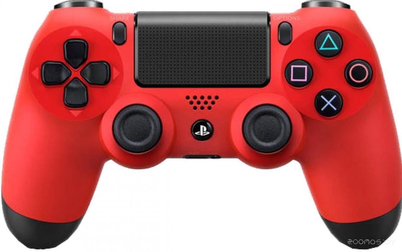 Беспроводной геймпад Sony Dualshock 4 (Red)