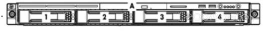Бокс для жесткого диска HP HDD Bkpln 1U 2S