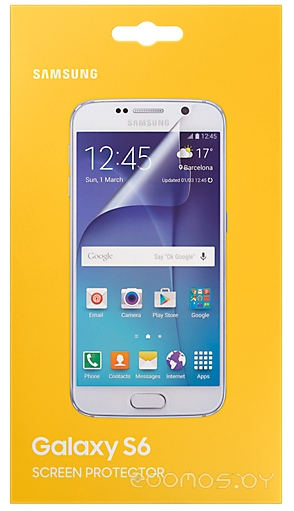 Защитная плёнка для телефона Samsung ET-FG920CTEGRU