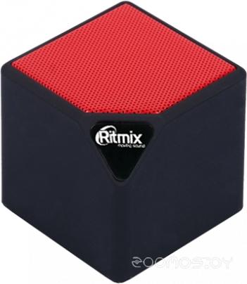Портативная акустика Ritmix SP-140B (Black-red)
