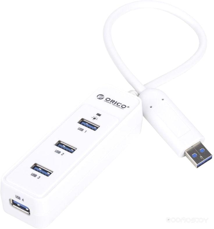 USB-хаб ORICO W5PH4-U3-WH [OR0109]
