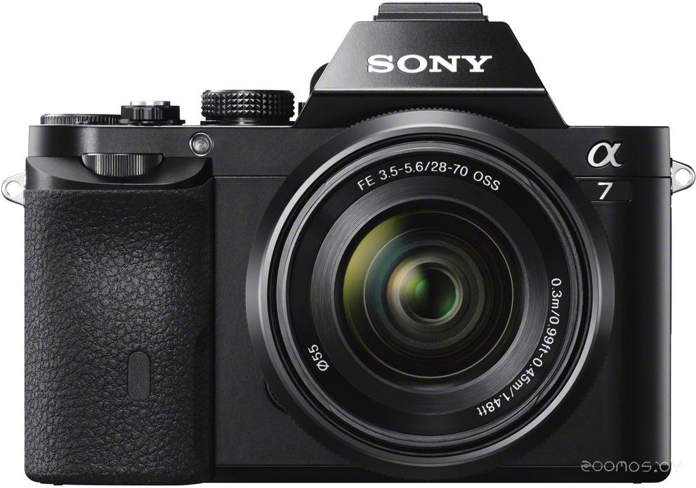 Цифровая фотокамера Sony Alpha A7 Kit + 28-70mm (Black)