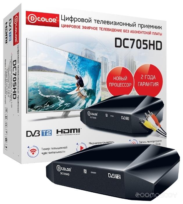 TV-тюнер D-COLOR DC705HD