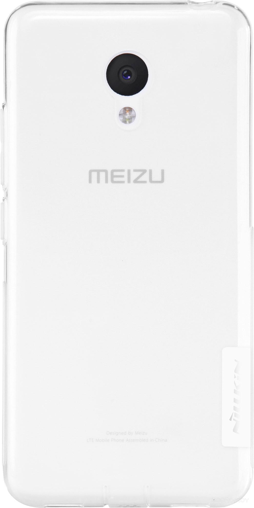 Чехол Nillkin Nature TPU для Meizu M3 (прозрачный)