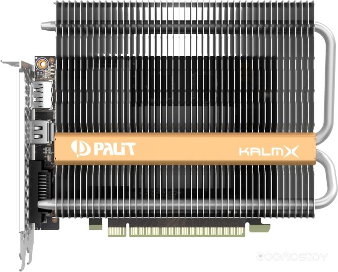 Видеокарта PALIT GeForce GTX 1050 Ti KalmX 4GB GDDR5 [NE5105T018G1-1070H]