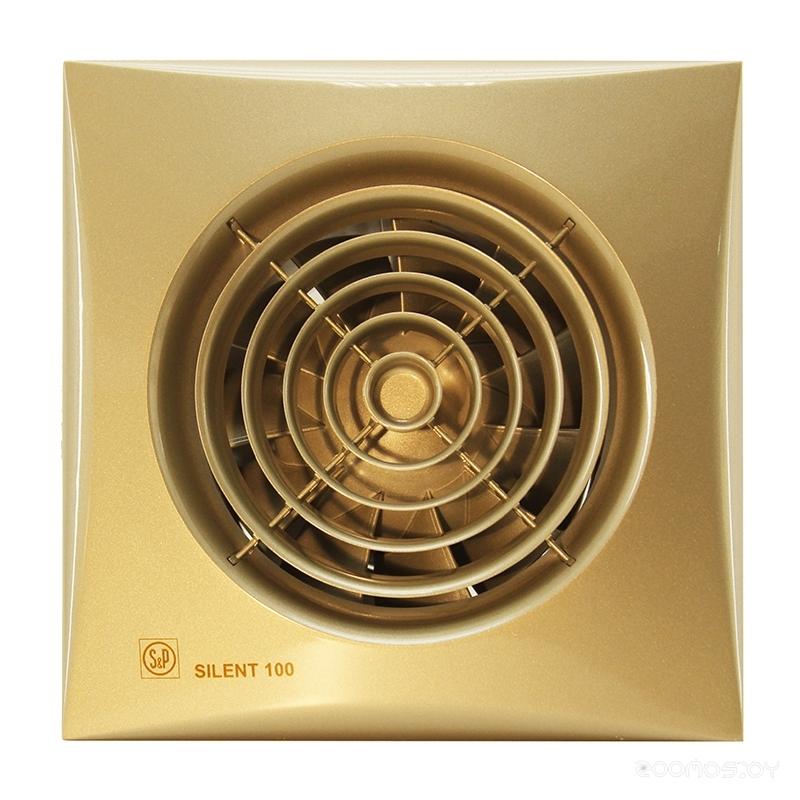 Вытяжная вентиляция Soler & Palau Silent-100 CZ Gold [5210604300]