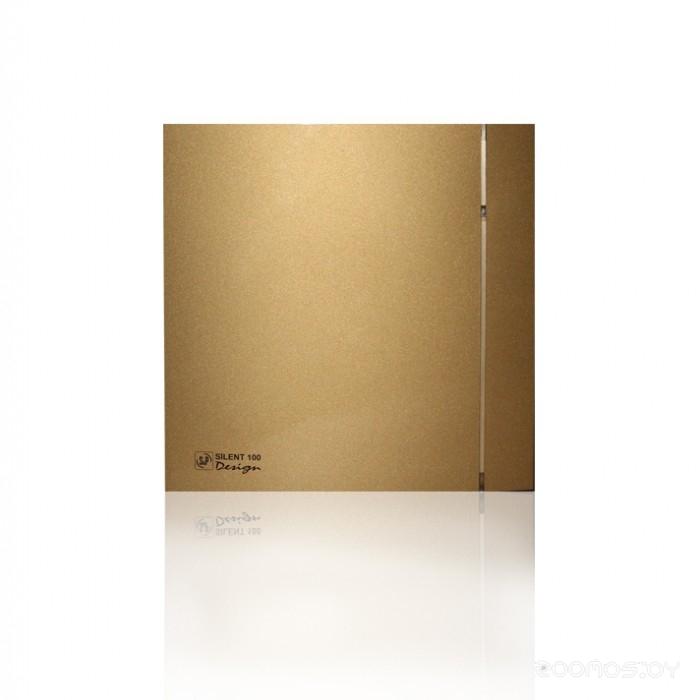 Вытяжная вентиляция Soler & Palau Silent-100 CZ Gold Design - 4C [5210619800]
