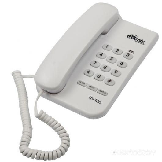 Проводной телефон Ritmix RT-320 (White)