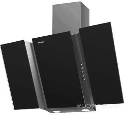 Вытяжка Maunfeld TRENT GLASS 90 серебристый / чёрный