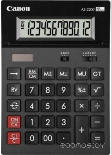Калькулятор Canon AS-2200
