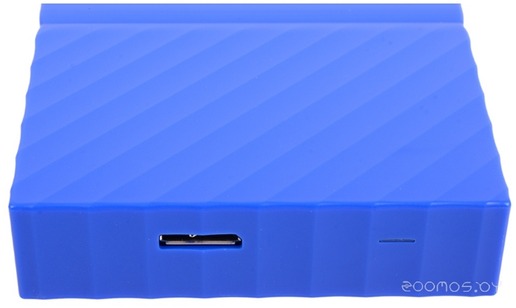 Внешний жёсткий диск Western Digital WD My Passport 4TB (Blue)
