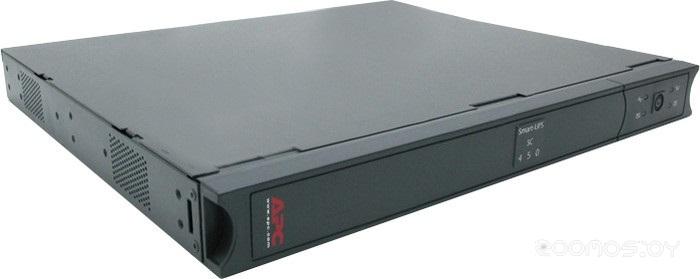Источник бесперебойного питания APC Smart-UPS SC 450VA/280W