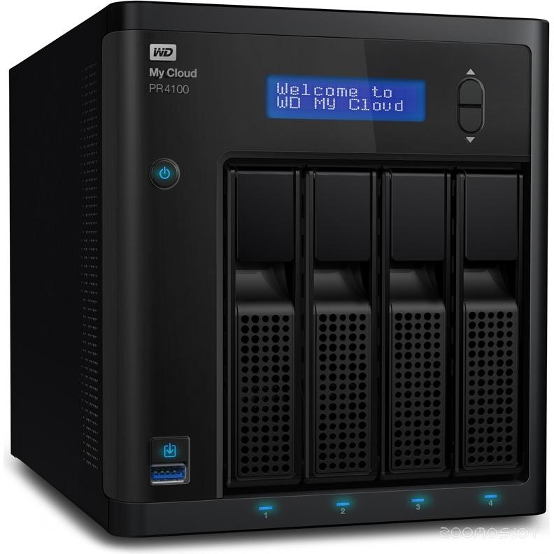 Сетевой накопитель Western Digital WDBKWB0080KBK-EEUE