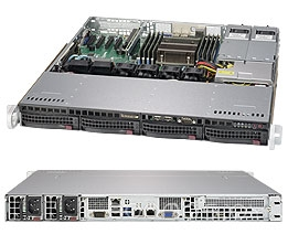 Серверная платформа Supermicro SYS-5018R-MR