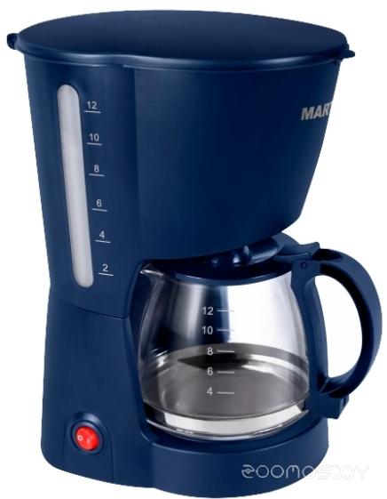 Кофеварка Marta MT-2113 (Синий сапфир)