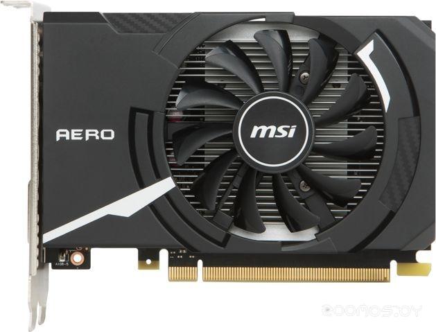 Видеокарта MSI GeForce GT 1030 Aero ITX OC 2GB GDDR5 [GT 1030 AERO ITX 2G OC]