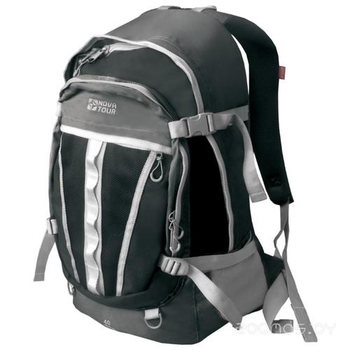 Рюкзак Nova Tour Слалом 40 v2 серый/черный