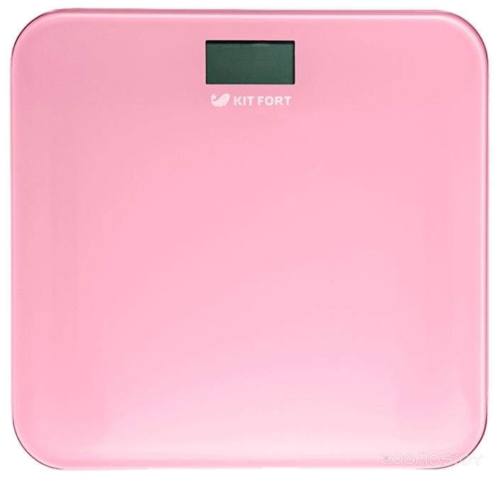 Напольные весы Kitfort КТ-804-2 розовые