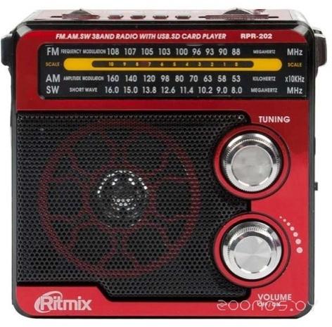 Радиоприемник Ritmix RPR-202  (Red)
