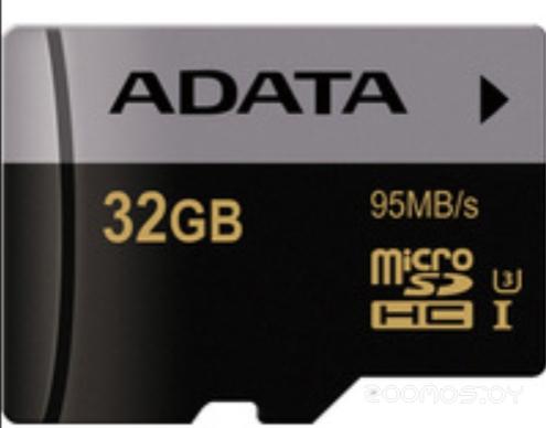 Карта памяти A-Data microSDHC UHS-I U3 Class 10 32GB