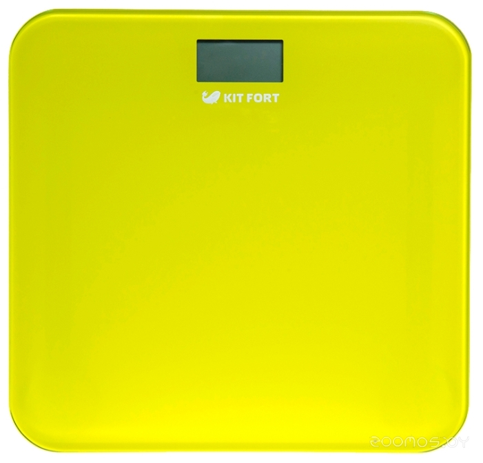 Напольные весы Kitfort КТ-804-4 жёлтые