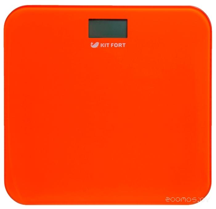 Напольные весы Kitfort КТ-804-5 оранжевые
