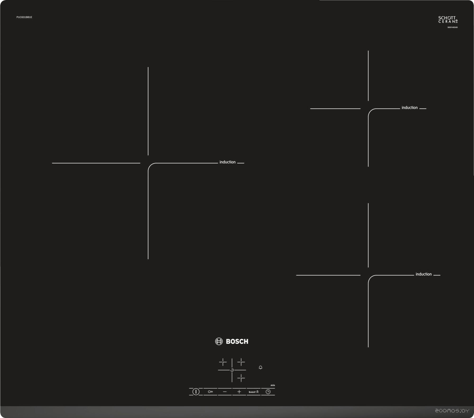 Варочная панель Bosch PUC631BB1E
