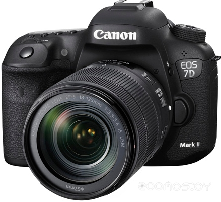Цифровая фотокамера Canon EOS 7D Mark II Kit EF-S 18-135 IS USM
