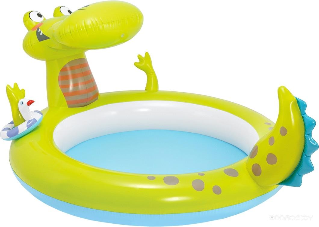 Бассейн INTEX Крокодил 198x160x91 [57431NP]