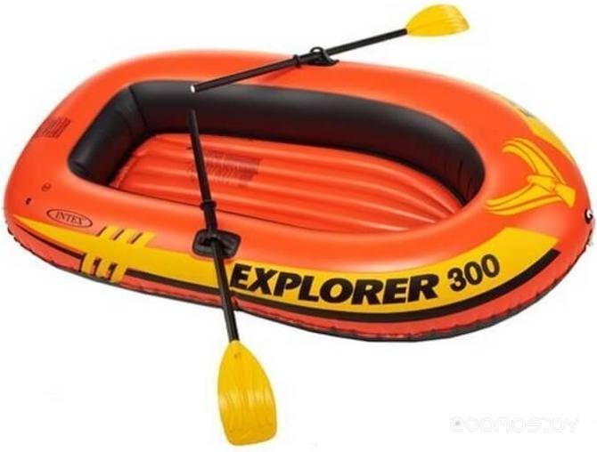 Надувная лодка INTEX Explorer 300 (Intex-58332)