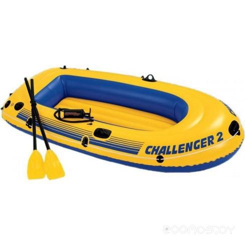 Надувная лодка INTEX Challenger 2 Set (Intex-68367)