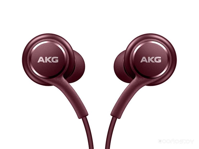 Наушники Samsung Earphones Tuned by AKG (Burgundy)