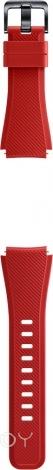 Сменный ремешок Samsung для Gear S3 силикон (Red)