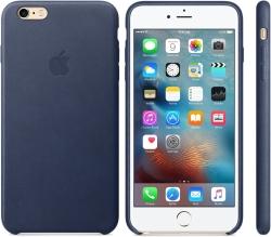Apple Leather Case для 6 Plus / 6s Plus Midnight Blue [MKXD2]