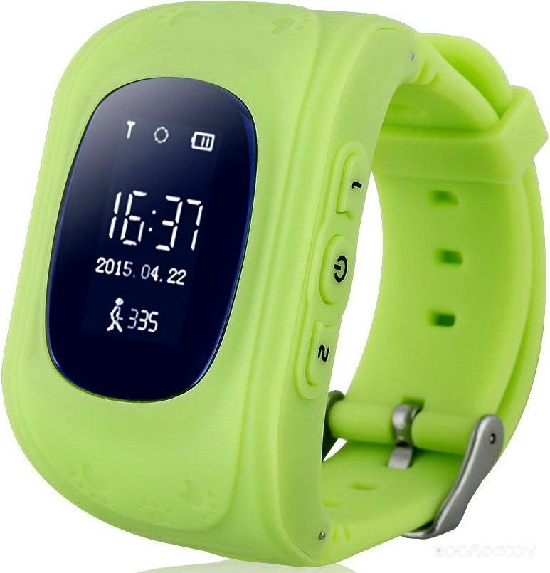 Умные часы Wonlex Q50 (Green)
