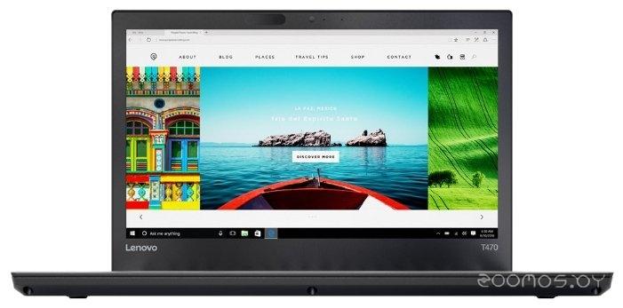 Ноутбук Lenovo ThinkPad T470p (20J6001ART)