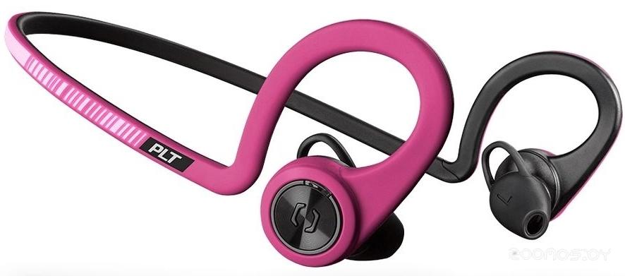 Bluetooth-гарнитура Plantronics BackBeat FIT (Pink)