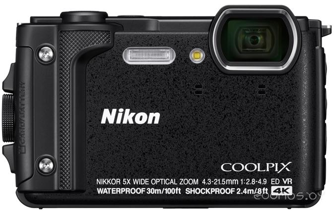 Цифровая фотокамера NIKON Coolpix W300 (Black)