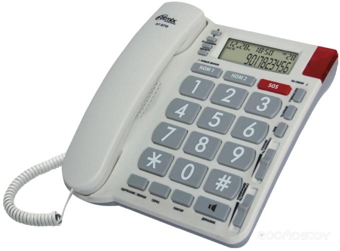 Проводной телефон Ritmix RT-570 (Слоновая Кость)