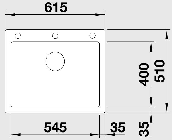 Кухонная мойка Blanco Pleon 6 (Антрацит)
