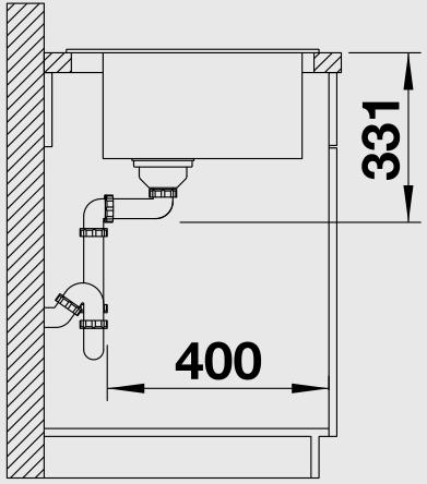 Кухонная мойка Blanco Pleon 6 (Шампань)