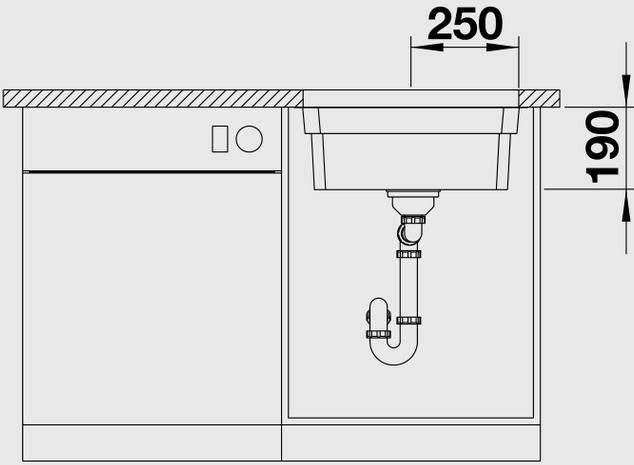 Кухонная мойка Blanco Blanco Etagon 500-U (Нержавеющая сталь)